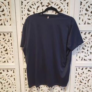 Polo by Ralph Lauren Shirts - Polo Ralph Lauren Navy Blue Performance Shirt